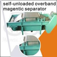 Buy cheap Over Belt Self Cleaning Overband Magnetic Separator / Cross Belt Magnetic Separator from wholesalers
