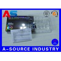 Buy cheap HGH Injection Vial Label Hologram Effect 2ml Bottle Label Printing from wholesalers