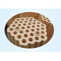 Buy cheap Lattice Fire Clay Bricks For Checker In Upper Part Of Hot Stove Regenerator from wholesalers