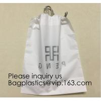 Buy cheap Laundry Bags Hospitality Plastic Bags Drawstring Closure Write-On Indicator Strips. Clear Hotel Biodegradable Bags With from wholesalers