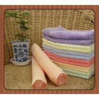 Buy cheap promotional eco-friendly organic bamboo fibre square towel face towel hand towel from wholesalers