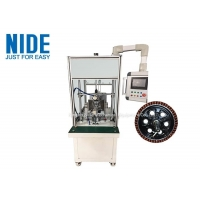 Buy cheap Automatic wheel hub motor stator winding machine , electric scooter flyer coil winder from wholesalers