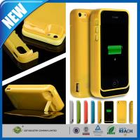 Buy cheap Thin Rechargeable Cell Phone Battery Case Charger Pack 4200mAh For Iphone 5C from wholesalers