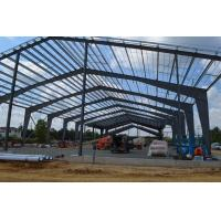 Buy cheap Larger Span Building Steel Frame As Structural Steel Warehouse And Workshop from wholesalers