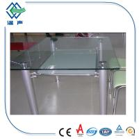 Buy cheap Polished edge toughened glass table top with CSI,CE,CCC Approved from wholesalers