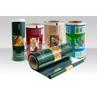 Laminated Food Packaging Plastic Roll Film Moisture Barrier for Tea Manufactures