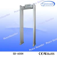 Buy cheap SD-600H Multi-zones Chinese security door frame metal detector price for sale from wholesalers