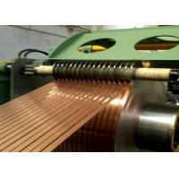 Buy cheap Copper Coil Strips Aluminum Slitter PLC Controlled Non Ferrous Metals from wholesalers