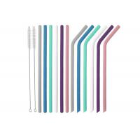 Buy cheap Silicone Straws for  Tumblers Reusable Silicone Drinking Straws BPA Free from wholesalers