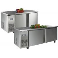 Buy cheap Stainless Steel 2 Door Under Bench Fridge Static Cooling Undercounter Freezer With Ice Maker from wholesalers