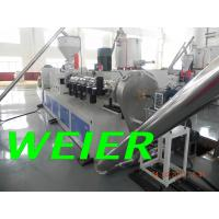 WPC / PVC Plastic Recycling Machine , 90kw Plastic Pelletizing Machinery Manufactures