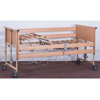 Buy cheap Movable Wooden Frame Electric Nursing Bed Home Care Bed Linear Actuator Patient Care Bed from wholesalers