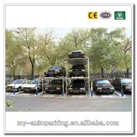 Buy cheap Residential Pit Garage Parking Car Lift Garage Car Stacking System 3 Levels Pit Parking Li from wholesalers