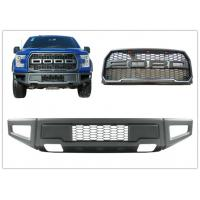 Buy cheap Ford F150 2015 2017 Raptor Style Steel Front Bumper Bar and Front Grille from wholesalers