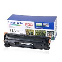 Buy cheap Black 2100 Pages Yield Laserjet Ink Cartridges CE278A For HP Pro P1560 1566 from wholesalers
