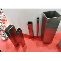 Buy cheap Welded Stainless Steel Pipe Square Rectangular 304 316 316L Inox Pickled Surface from wholesalers