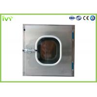 Wholesale 304 Stainless Steel Pass Through Box ISO Class 5 Clean Grade In Laboratory from china suppliers