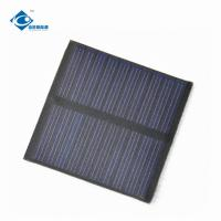 Buy cheap 0.35W flexible mini solar panel 5Volt ZW-5555 poly solar panel for dc solar power system from wholesalers