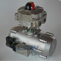 Buy cheap Stainless Steel Spring Return Valve Actuator , Air Operated Actuator 2~8 Bar Pressure from wholesalers