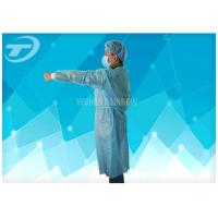 Buy cheap Pharmaceutical Cleanroom disposable medical garments White Dust Proof Breathable from wholesalers