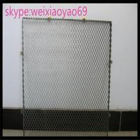 Buy cheap 304 diamond hole  Stainless Steel Expanded Metal/  expanded wire mesh for decorate/metal mesh from wholesalers