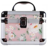 Wholesale Beautiful Plastic Cosmetic Box With Aluminum Frame / Arcylic Jewelry Box With Printting from china suppliers
