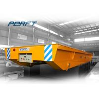 Buy cheap 25 T Cargo Freight Rail Guided Transfer Vehicle for Factory Material Transportation from wholesalers