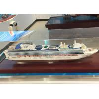 Buy cheap Container Hand Crafted Model Ships With Sapphire Princess Cruise Ship Shaped from wholesalers