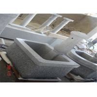 Buy cheap European Decorative Landscaping Stone Garden Simple Grey Granite Water Fountain from wholesalers