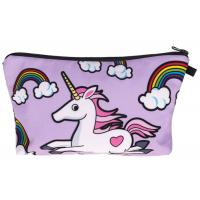 Buy cheap Unicorn Design Zippered Cosmetic Bag , Small Cosmetic Bag For Handbag from wholesalers