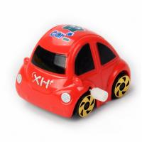 Wholesale Pre School Education Plastic Wind Up Toys / Pull Back Red Car Wind Up Toys from china suppliers