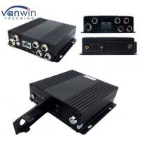 Buy cheap Double SD cards 1080P  4 Channel Mobile DVR Cameras Security System from wholesalers