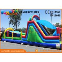 Wholesale Kids Inflatable Obstacle Course Bounce House Fire Retardant And Water - Proof from china suppliers