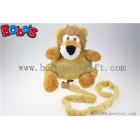 "11.8""Lovely Yellow Plush Lion Children Backpack Children Not Lost Bags Bos-1238/30cm Manufactures"