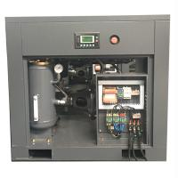 Belt Driven Professional Rotary Screw Air Compressor 8bar 7.5hp / 5.5kw Air Cooling