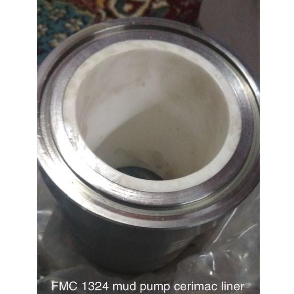 Buy cheap FMC Bean Pump Mud Pump Parts Small Alumina Ceramic Liners FMC 435 FMC 1324 Cylinder Sleeve API-7K from wholesalers