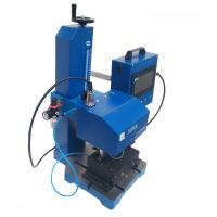 Buy cheap Desktop Dot Etcher Dot Pin Marking Machine Frequency 300 Time/S 4 mm from wholesalers