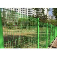 Buy cheap PVC coated welded 3d curved wire mesh fence / Welded Mesh Fence from wholesalers