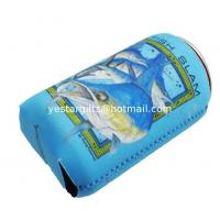 Wholesale Insulated 2.5mm Neoprene Can Cooler , SBR Collapsible Beverage Can Cooler Holder from china suppliers