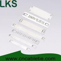 Buy cheap Stainless steel marker plates from wholesalers