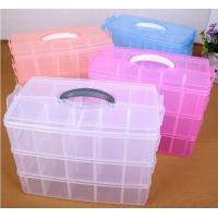 Wholesale Parts Stocker Organizer PP Plastic Storage Box, pp EVA plastic adjustable plastic storage box, PLASTIC MESS ARTICLE TABL from china suppliers