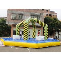 Wholesale Gauntlet Challenge Wrecking Ball Inflatable Wipeout Game Easy Assembly from china suppliers