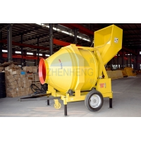 Wholesale 18-20m3/h JZR500 Diesel Engine Reversing Drum Concrete Mixer from china suppliers