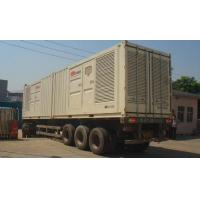 Buy cheap Professional Silence Soundproof Genset Power Plant , Man Containerised Generator Set from wholesalers