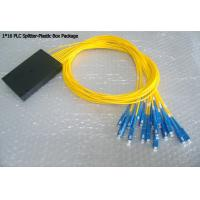 Buy cheap 1x16 PLC SC/APC ABS packing Fiber Optic Splitter applied in FTTX networks from wholesalers