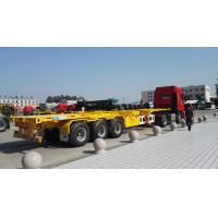 Buy cheap 12 Locks Heavy Duty Semi Trailers / Cargo Container Trailer With 28 Tons Support Leg from wholesalers