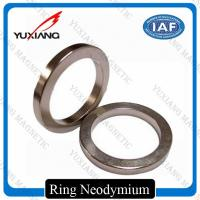 Buy cheap Ndfeb N35 - N52 Sintered Neodymium Permanent Magnets Bright Silver Color from wholesalers