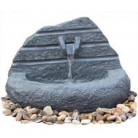 Buy cheap Natural Stone Carved Irregular Figure Garden Water Fountains Outdoor from wholesalers
