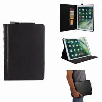 Buy cheap Ipad air 1/2/Ipad pro 10.5''/Ipad pro 9.7''/Ipad 2017/Ipad 2018/Ipad mini 1 2 3 4 wallet leather case with pen holder from wholesalers