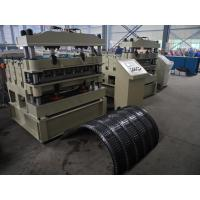 ISO Corrugated Sheet Roll Forming Machine 72mm Diameter of Shaft 2.2KW Manufactures